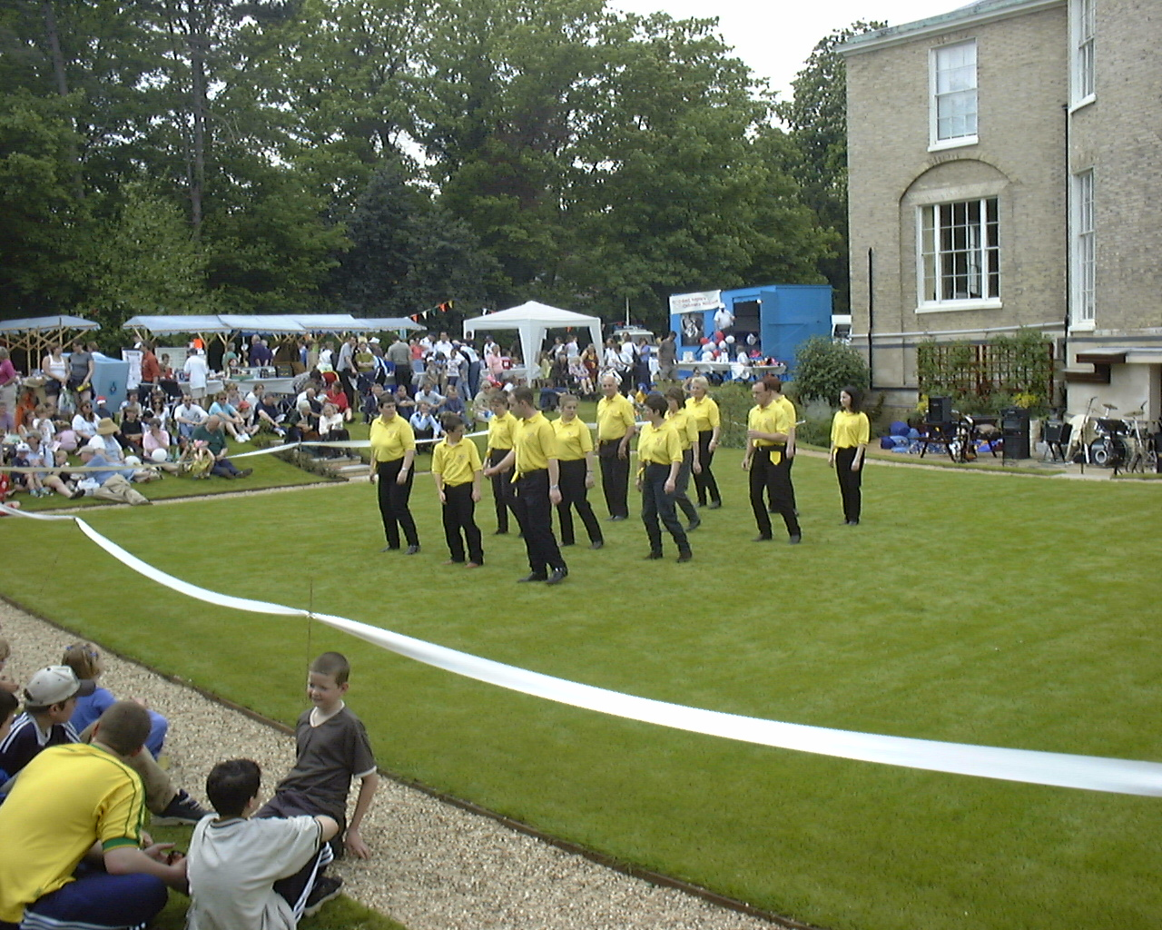 Hospice Gala day in grounds of Milton Hall