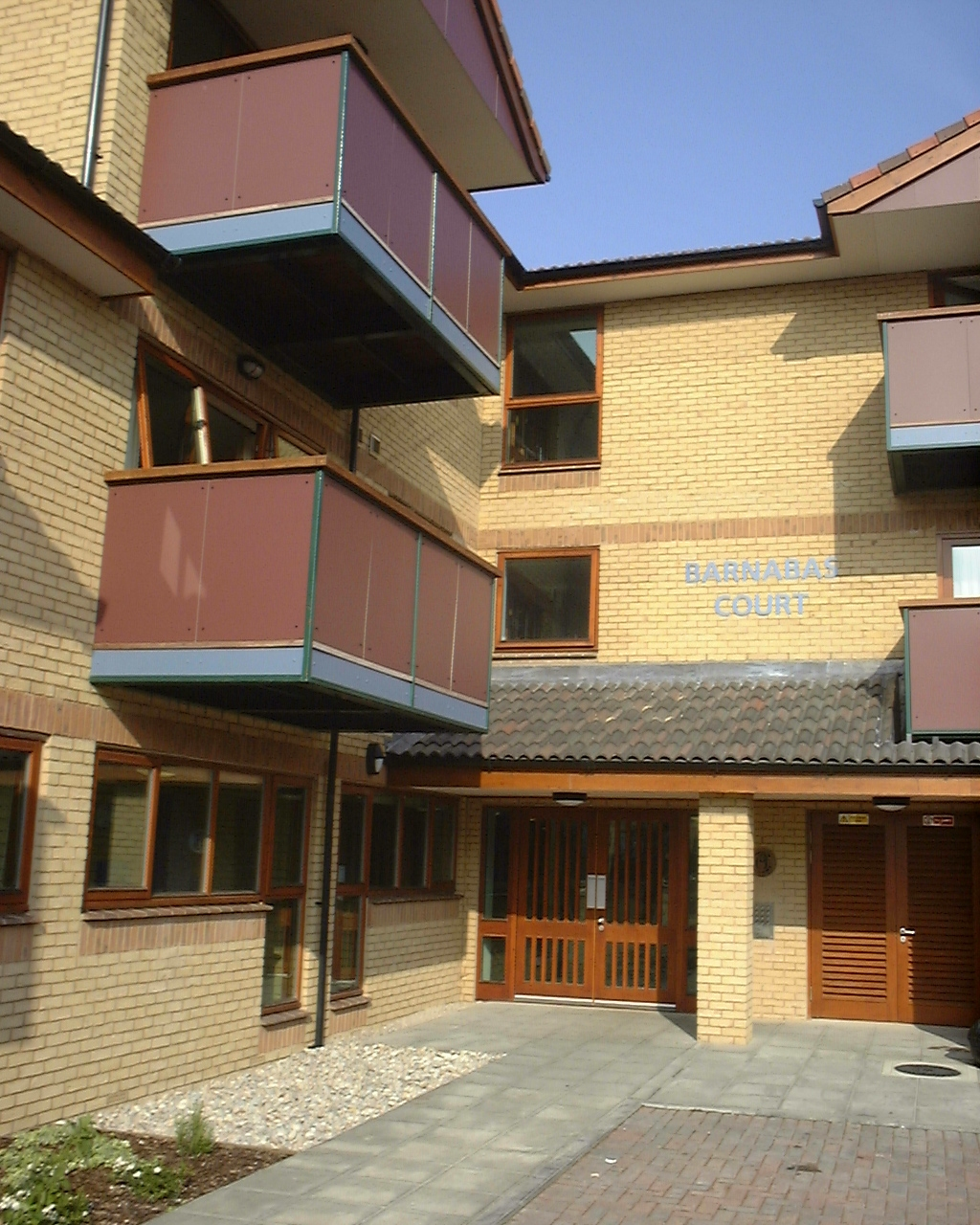 Newly opened Barnabas Court