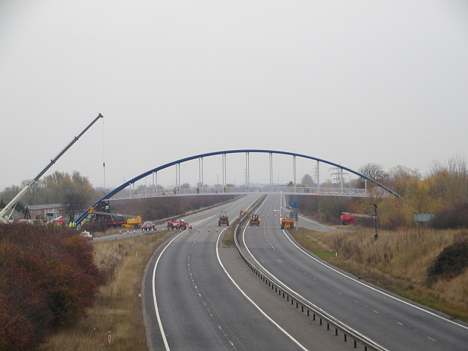 The Bridge in Place
