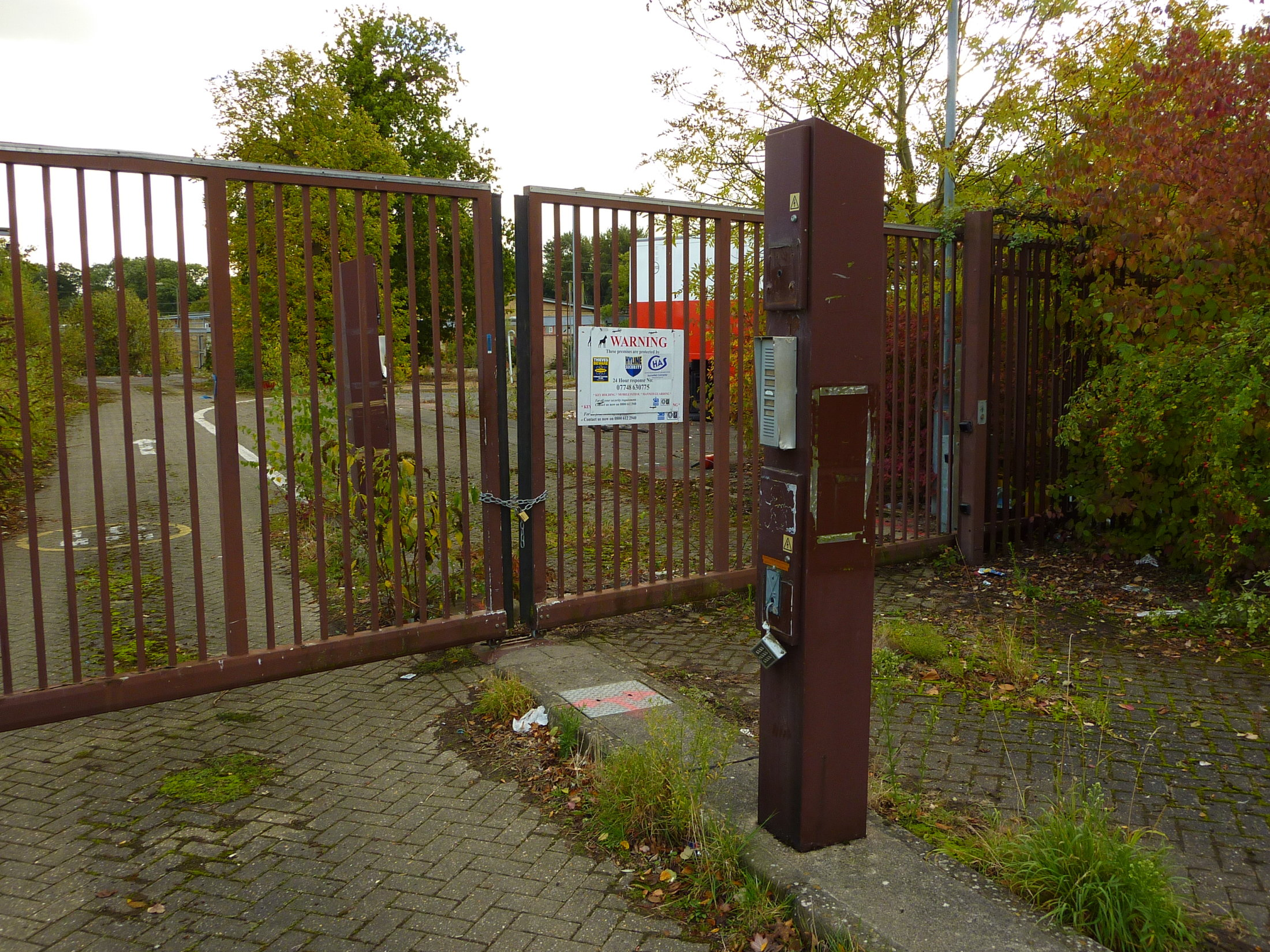 Gates of Eastern Electricity Board Site