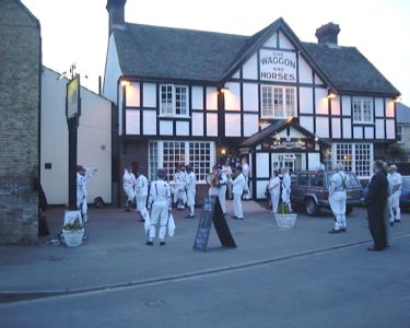 Morris Dancers at the Waggon and Horses