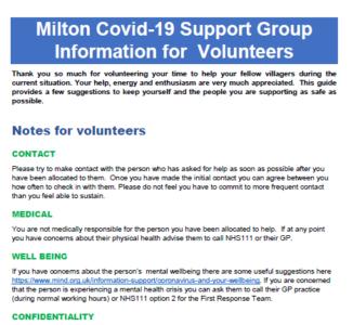 Information For Volunteers V4 220320