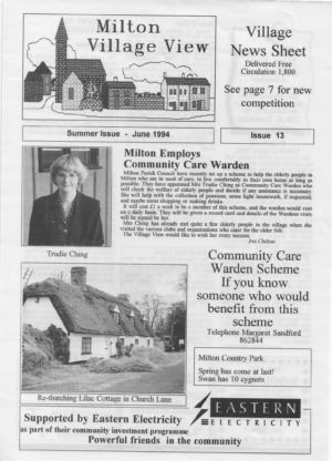 VV Issue 13 June 1994