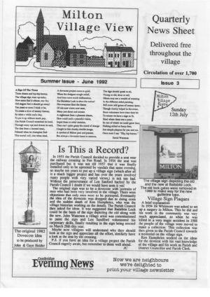 VV JC Issue 3 June 1992 (1)