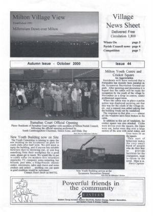 VV Issue 44 Oct 2000