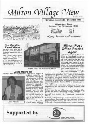 VV Issue 55 Dec 2002