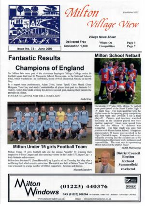 VV JC Issue 73 June 2006 (1)