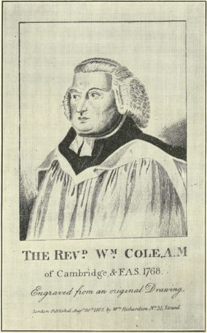 The Reverend William Cole
