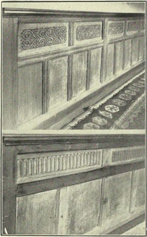 Panelling in Milton House