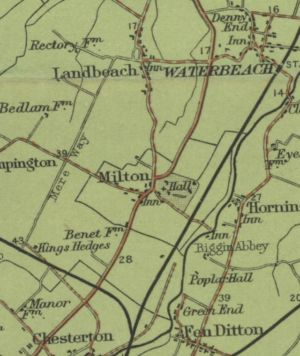 Map of Milton Published in 1902
