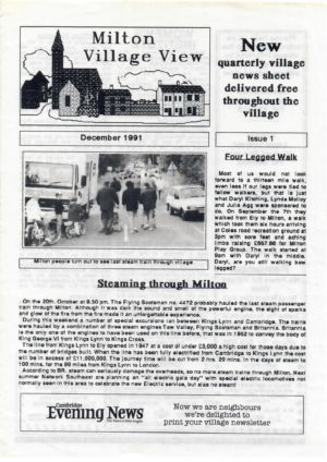 Village View Issue 1 Dec 1991