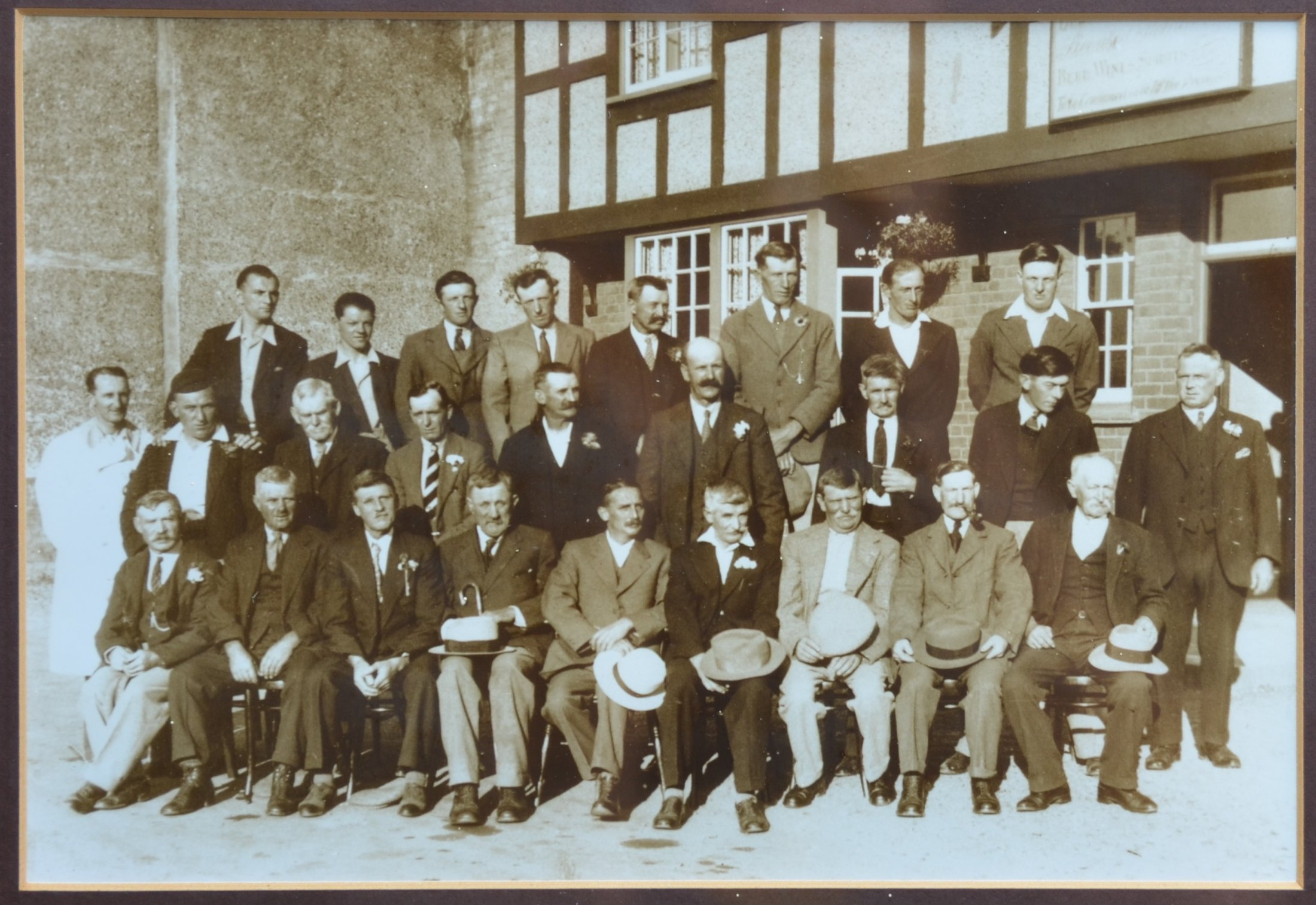 Waggon And Horses Outing Club 1934