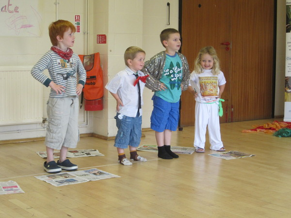 Children at Creative Movement 'Charlie and the Chocolate Factory' event