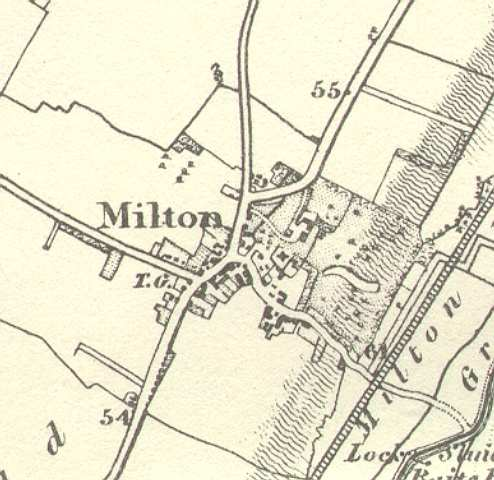A History of Milton in Maps Milton Village